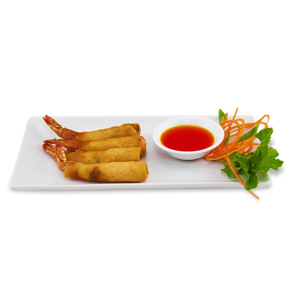 Shrimp imperial rolls -