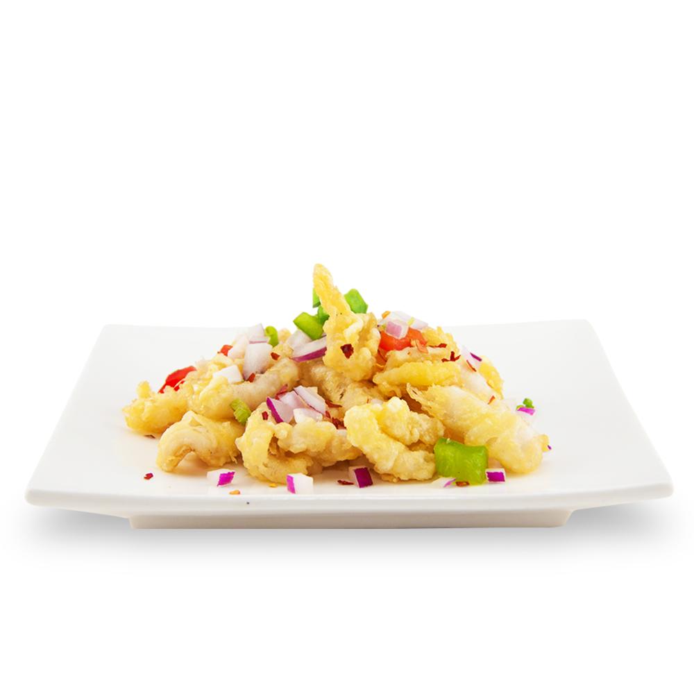 Salt and pepper calamari -