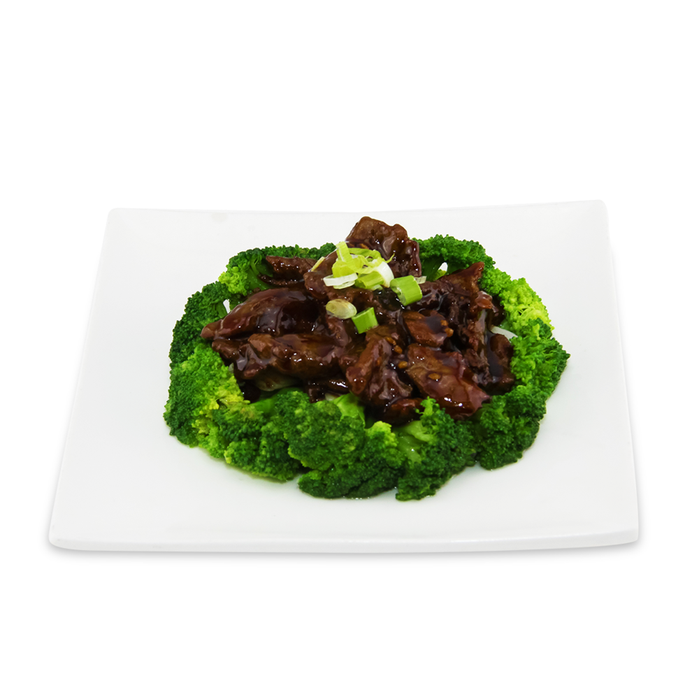 Beef with broccoli -