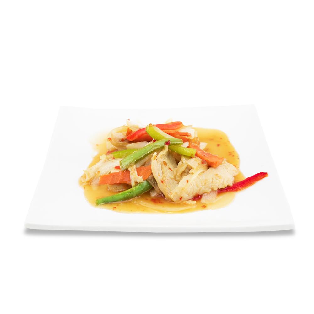 Rainbow chicken - (thaï sweet and sour sauce