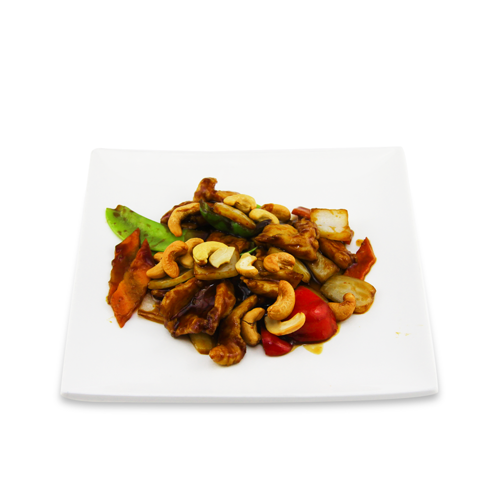 Thaï style Chicken with cashew nuts -