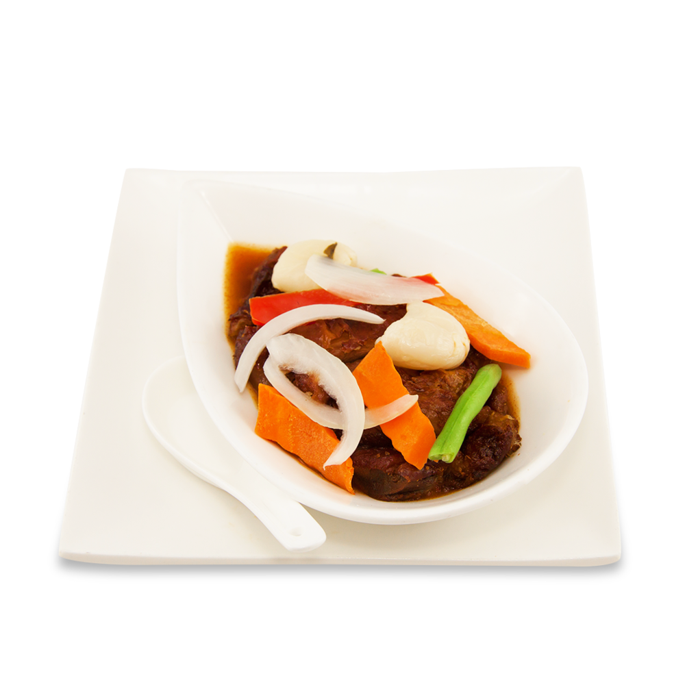 Crispy duck with special house sauce -