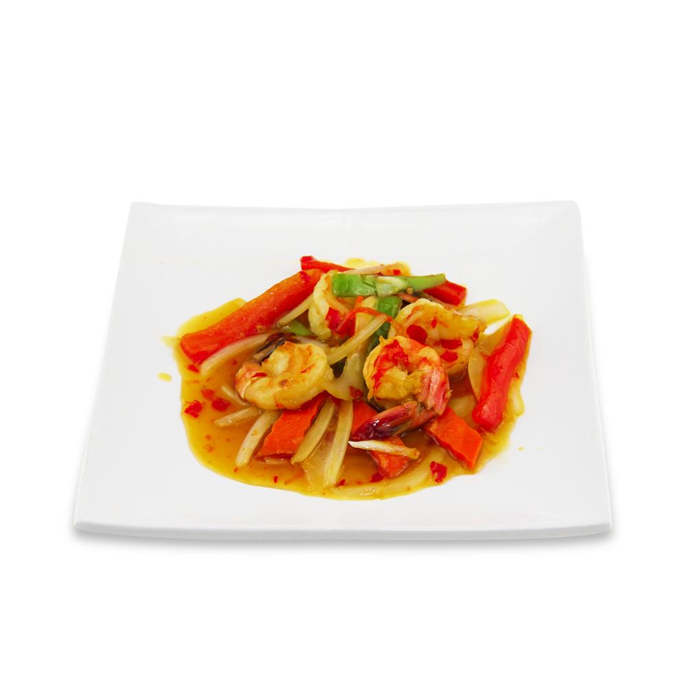 Rainbow shrimps - (Thaï sweet and sour sauce