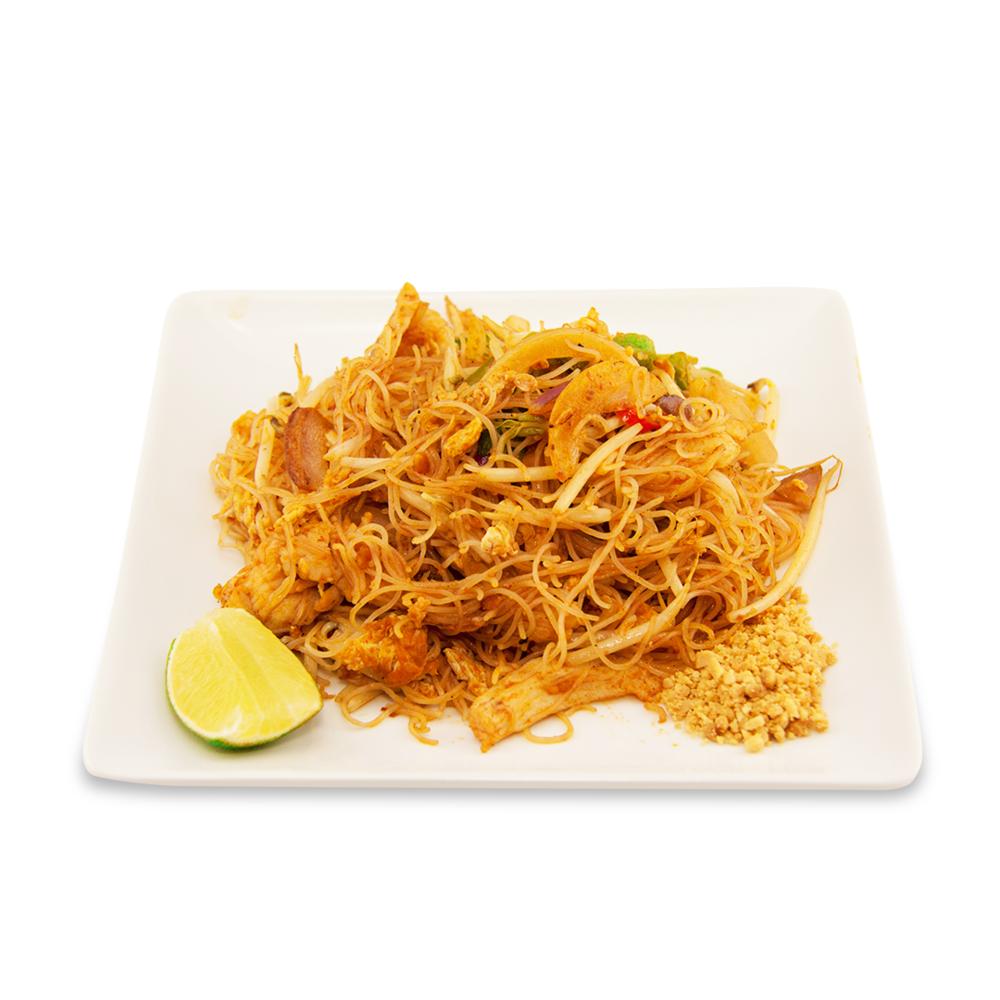 Pan sian - A ) LégumesB ) PouletC )BœufD ) Crevettes