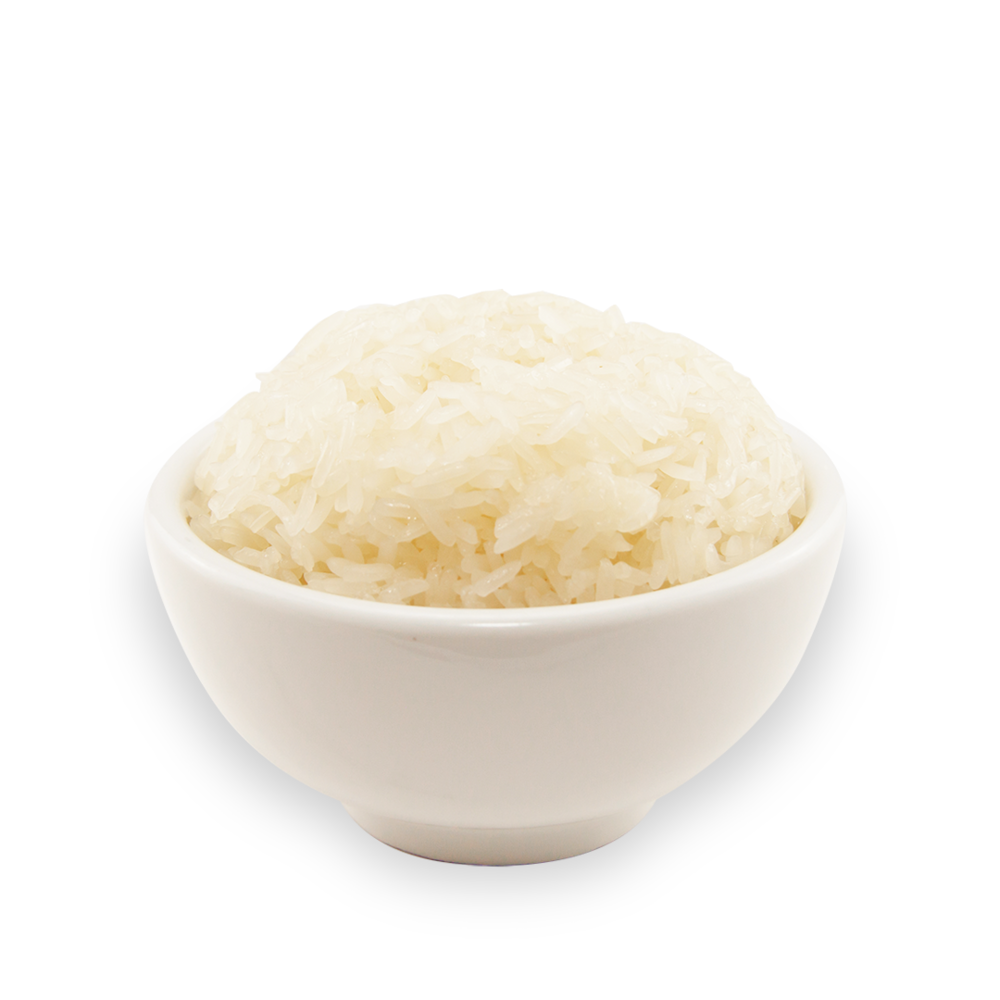 Steam rice -