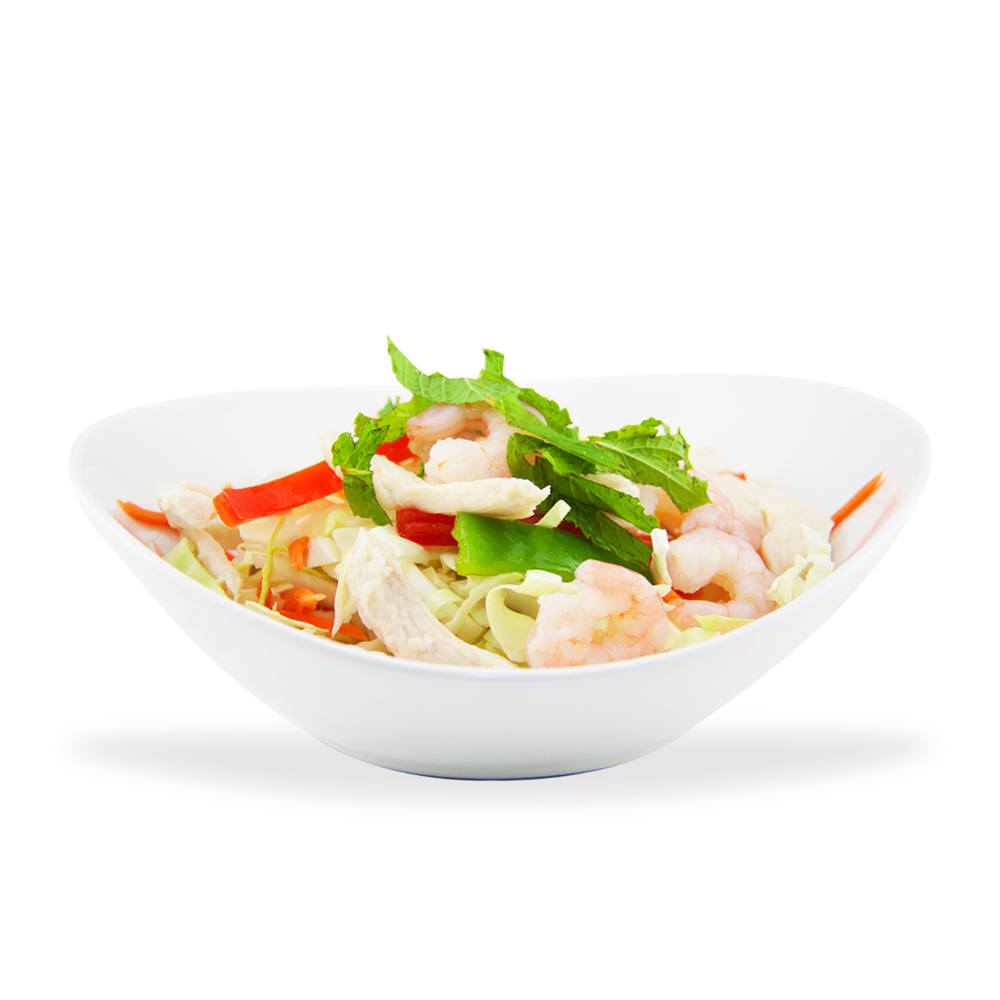 Gỏi Tôm Thịt - Cabbage salad with shrimps and pork