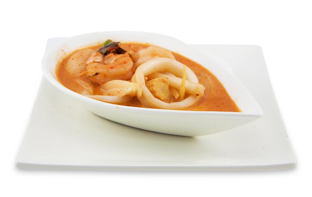Home-made Thaï curry -
