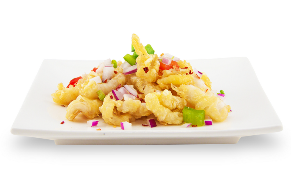 Salt and pepper calamari -