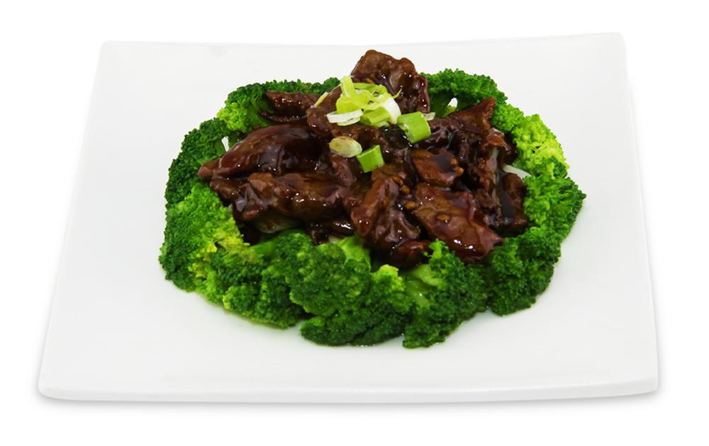 Boeuf sauté avec brocoli -