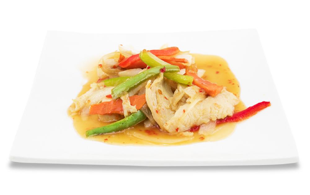Rainbow chicken - (thaï sweet and sour sauce)