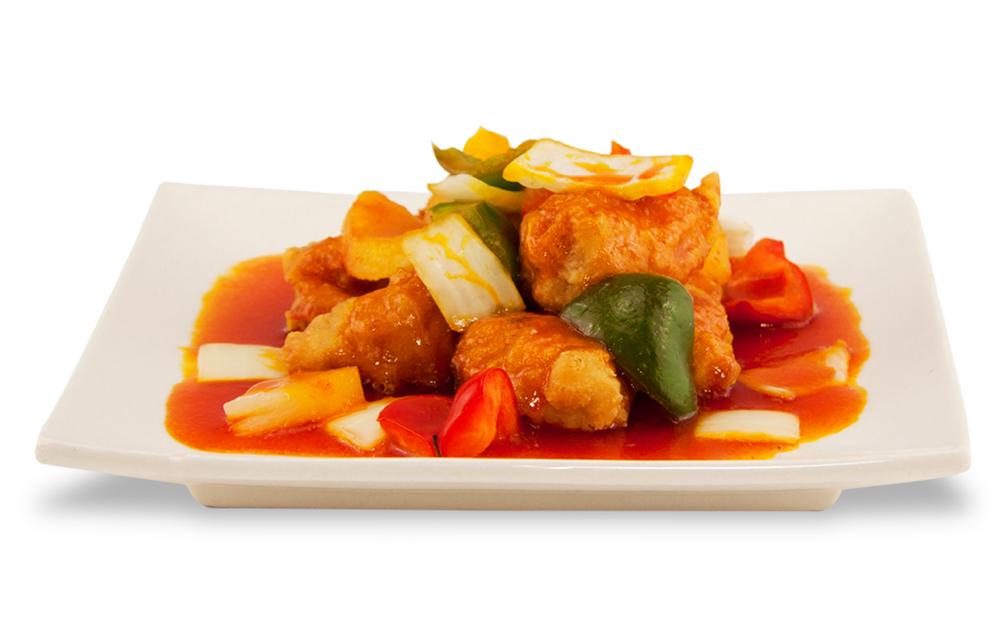 Pinneapple chicken -