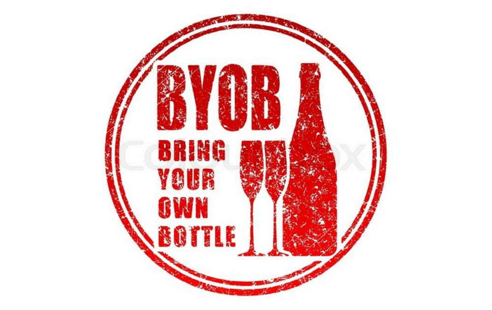 BYOB - Apportez votre bouteille de vin préférée