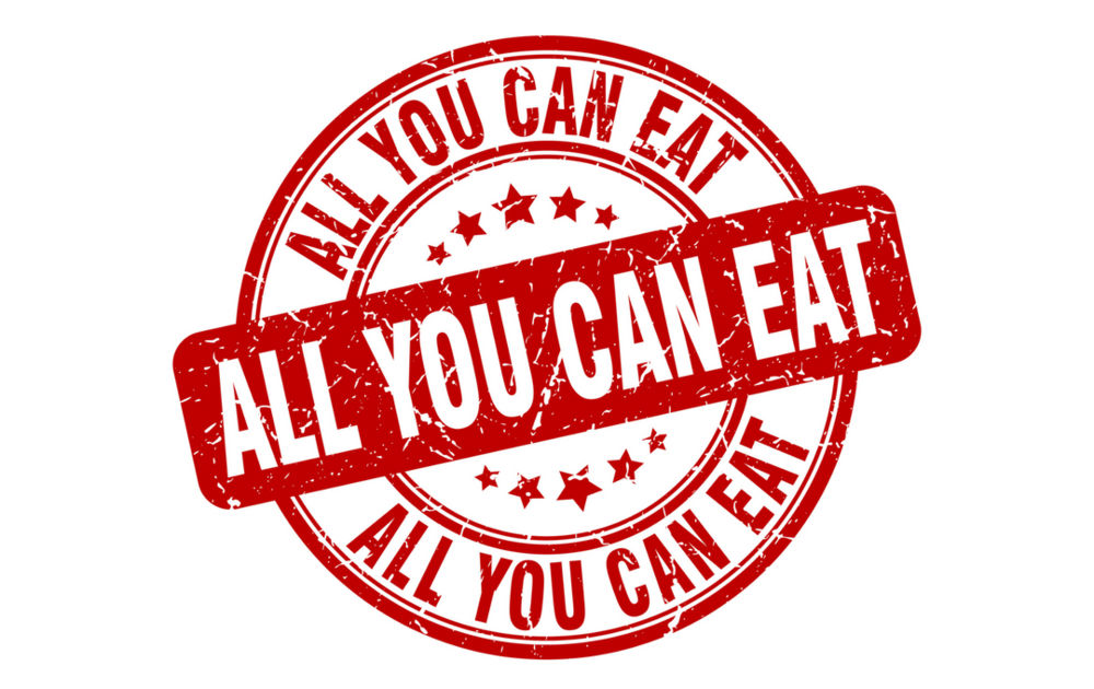 All You can eat! - YES ! You heard right. We have one of the largest Tasting Menus in Montreal. Order as much as you want.