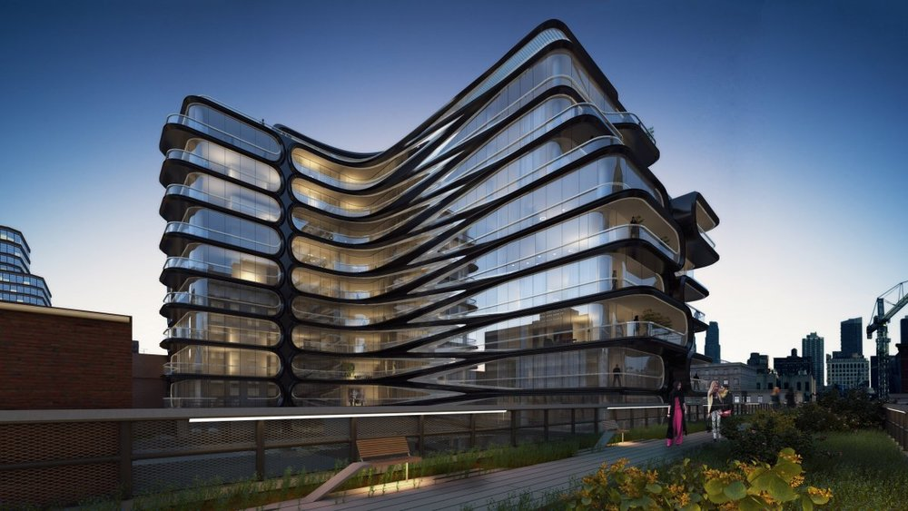 520 West -                          28th Street   New York, New York / USA Architects: Zaha Hadid