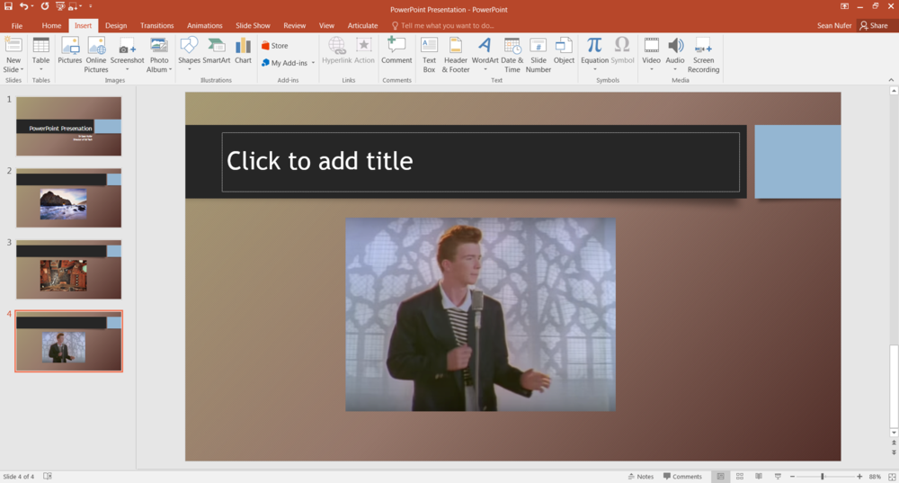 PowerPoint editor mode