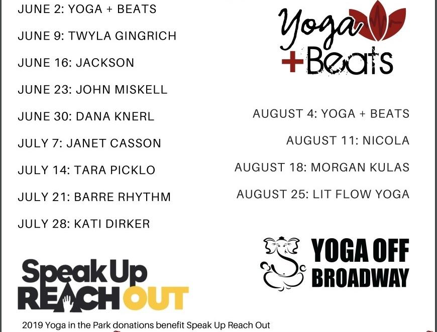Yoga & Meditation — SpeakUp ReachOut