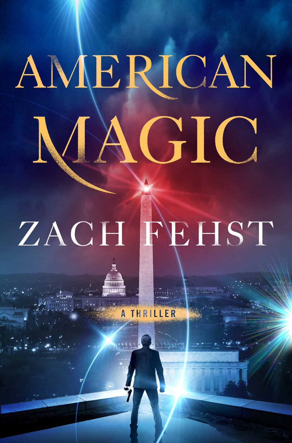 American Magic - *Coming Aug. 20, 2019 from Simon and Schuster*In this fast-paced, international thriller, chaos erupts after a shadowy figure with ties to an elite and ancient society posts incantations on the dark web that allow people to perform real magic.When an enigmatic message uploaded to the dark web turns out to contain an ancient secret giving regular people the power to do impossible things, like levitate cars or make themselves invisible, American government officials panic. They know the demo videos on YouTube and instructions for incantations could turn from fantastical amusement to dangerous weapon at the drop of the hat, and they scramble to keep the information out of the wrong hands.They tap Ben Zolstra, an ex-CIA field operative whose history with the Agency is conflicted at best, to lead the team that's racing to contain the dangerous knowledge—and track down the mysterious figure behind the leak who threatens that even more dangerous spells will be released one by one until the world as we know it no longer exists.This sweeping, globe-spanning thriller explores the dark consequences of a question mankind has been asking for centuries: What if magic were real?