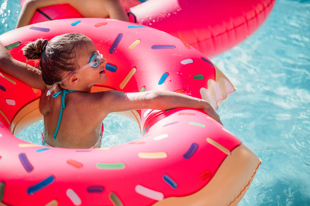 Swim. - Now bigger than ever, the swimming pool will be the center of fun at The Club all summer long. The pool area has been revamped to include a new equipment building to house pool toys, noodles and all the other accessories your family needs for a fun day in the water.