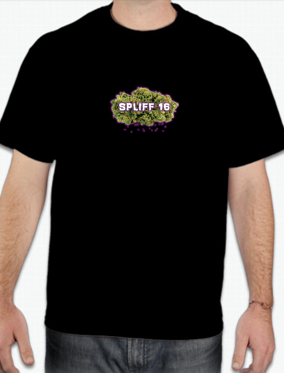 Spliff 16 Bud Men's T-Shirt (2 Colors)