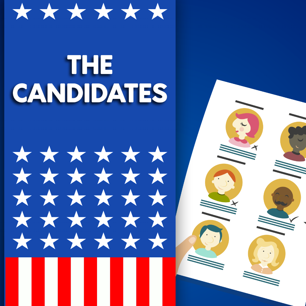 The Candidates Podcast - Interested in hearing directly from Beth? Have a listen to this podcast interview. Click on the image to go to the webpage.