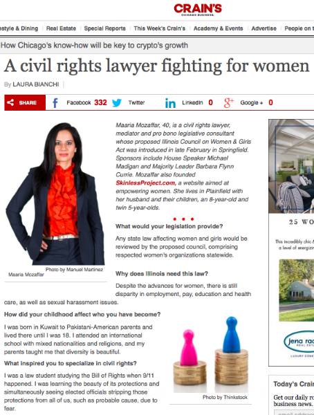 A-civil-rights-lawyer-fighting-for-women-maaria-mozaffar-chicago-ximena-larkin-c1-revolution-crain's-chicago-business