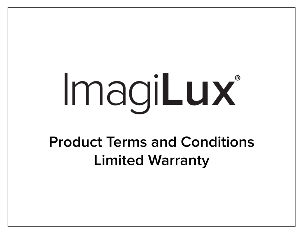 Product Terms and Conditions -