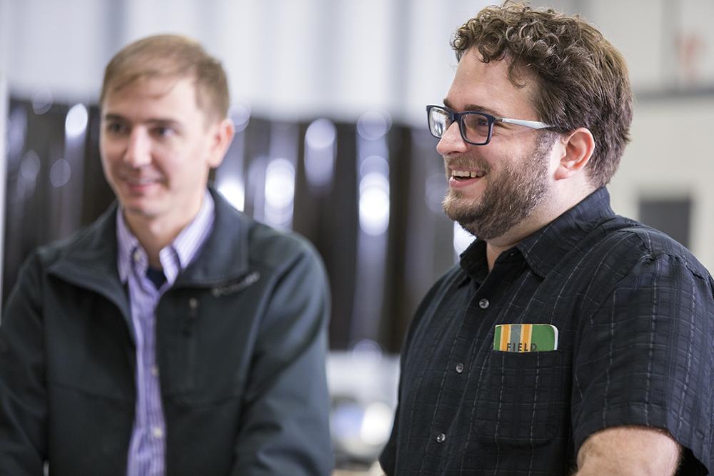 Nick Liebrecht, lead engineer since 2007 -