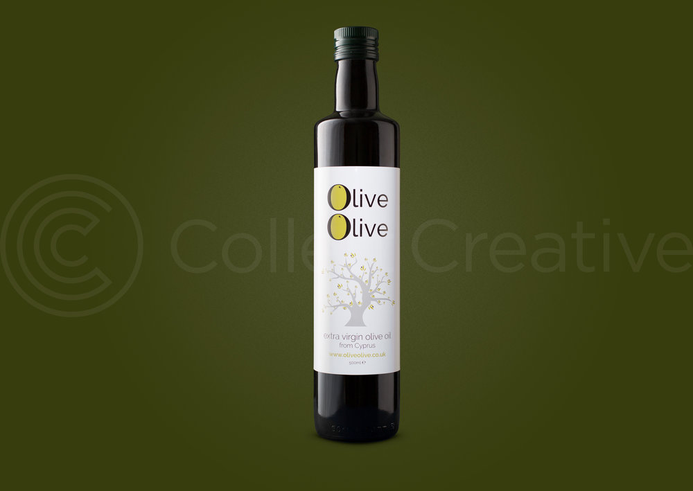 Final Bottle image after post production editing. I created three other images like this for the fused flavoured olive oil bottles.