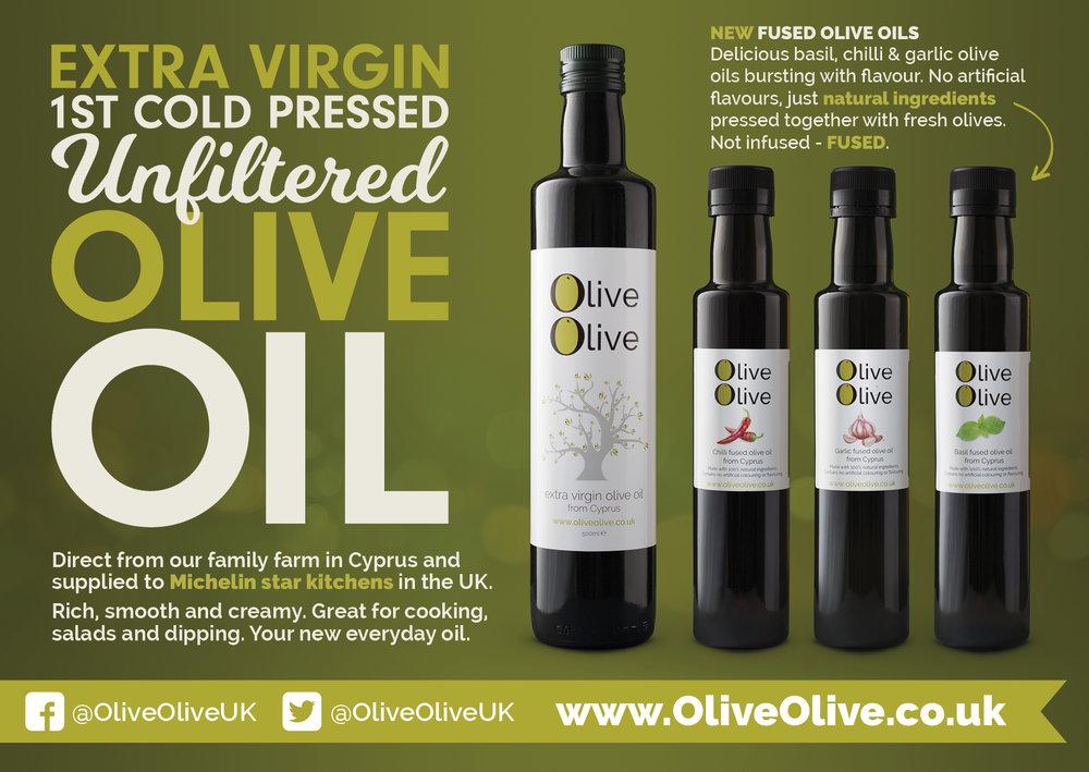 Olive Oil side of Flyer