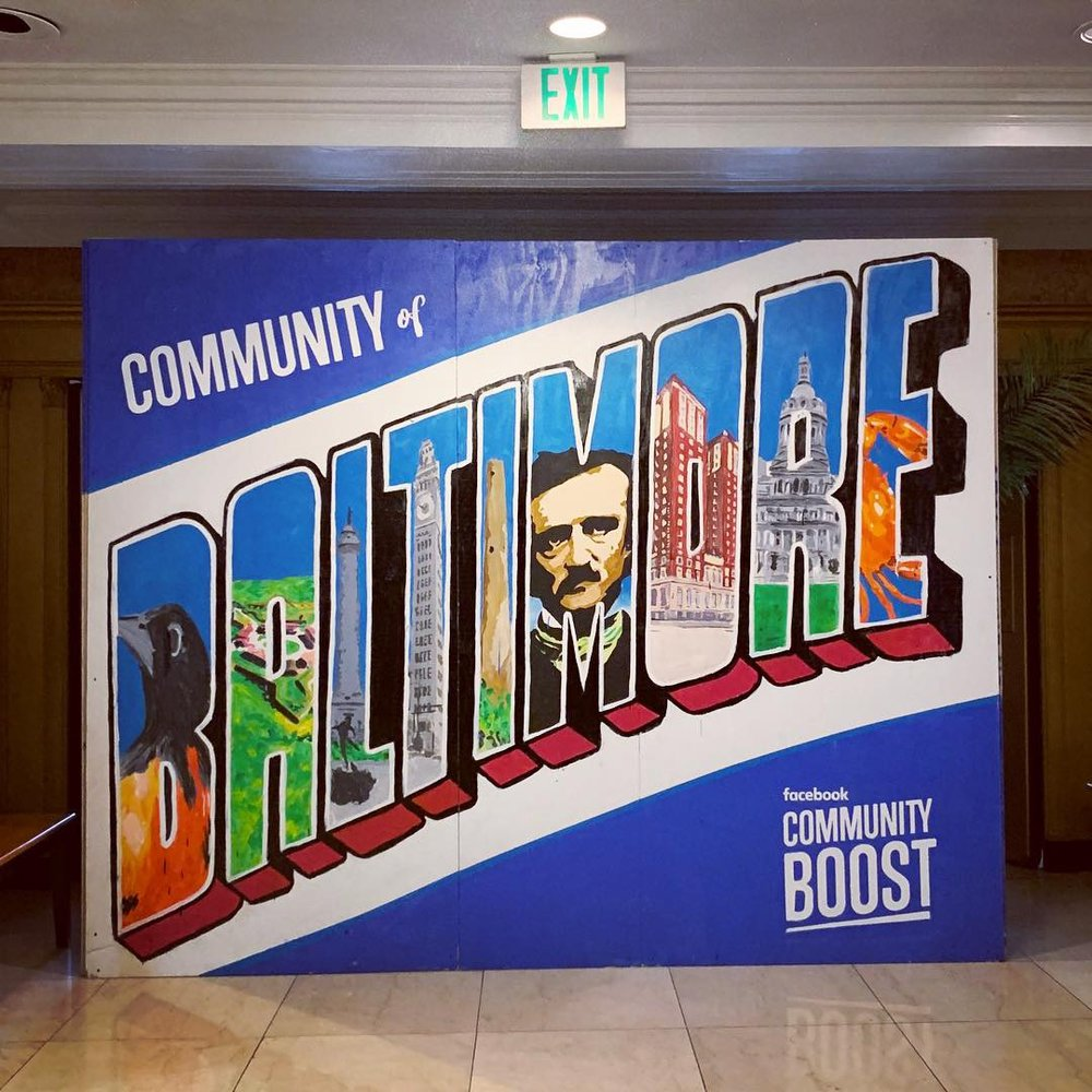 Facebook Community Boost in Baltimore - Good Vibes Consulting