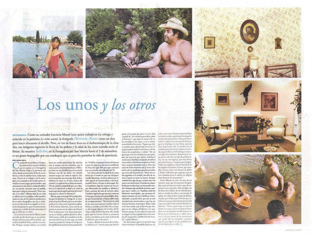 <strong>Diario Página 12</strong> 2001