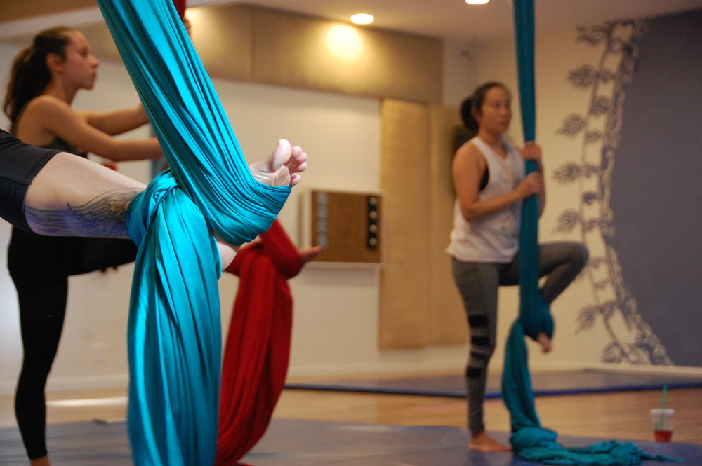 Aerial teacher training