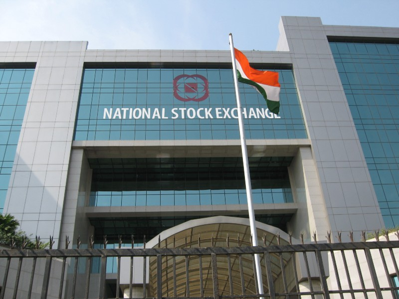 The National Stock Exchange in Mumbai, India. Image via Wikimedia Commons.