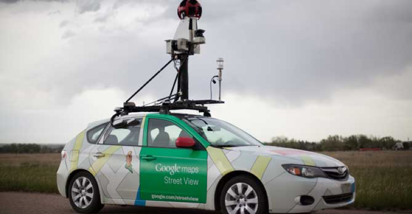 High precision methane analyzers used in partnership with Google Maps Street View. Source:  https://www.edf.org/climate/methanemaps