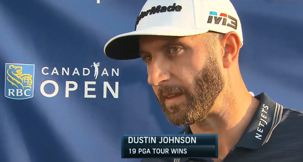 Interview:Dustin Johnson  -