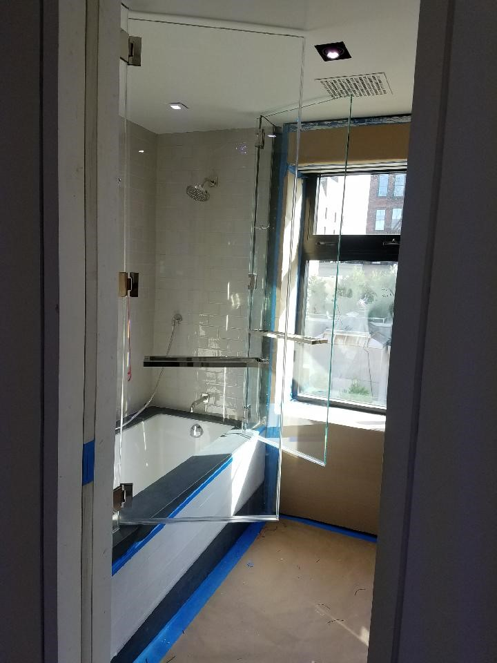 Swinging Glass Shower Door