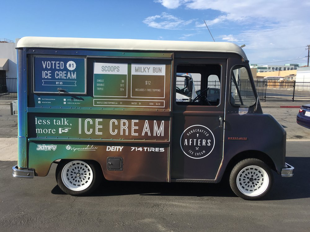 Afters Ice Cream Ice Cream Truck