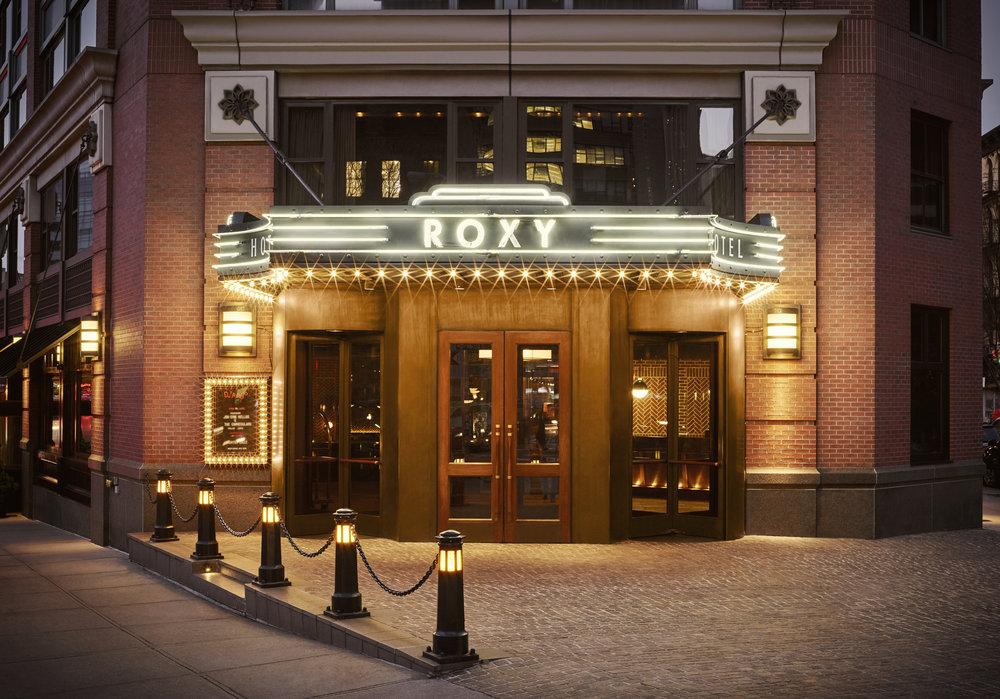 The Roxy Entrance