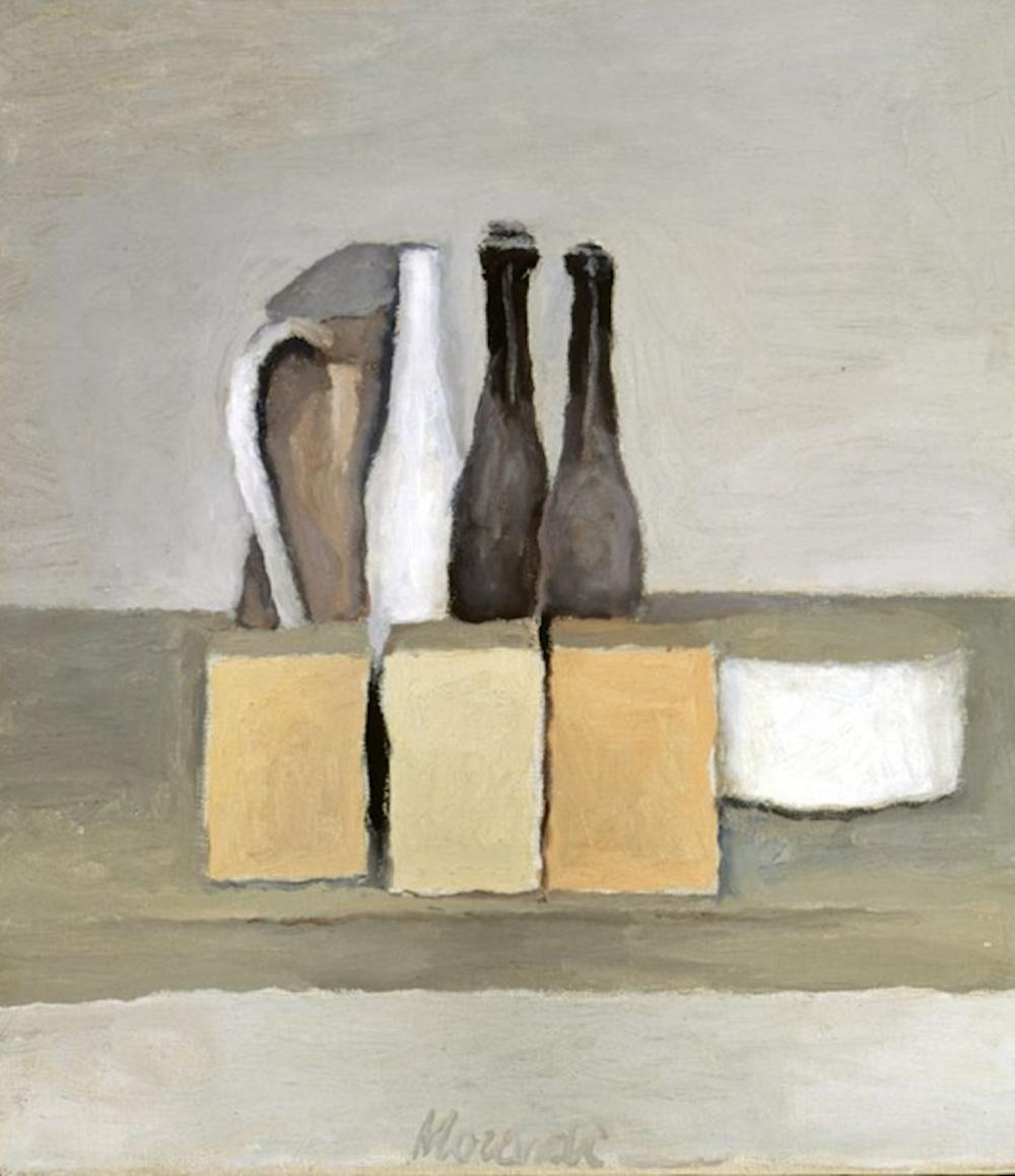 Gorgio Morandi,Still Life, 1956. Oil on canvas 40,5x30,5 cm. Givanard Collectioni, Rovereto, Italy..png
