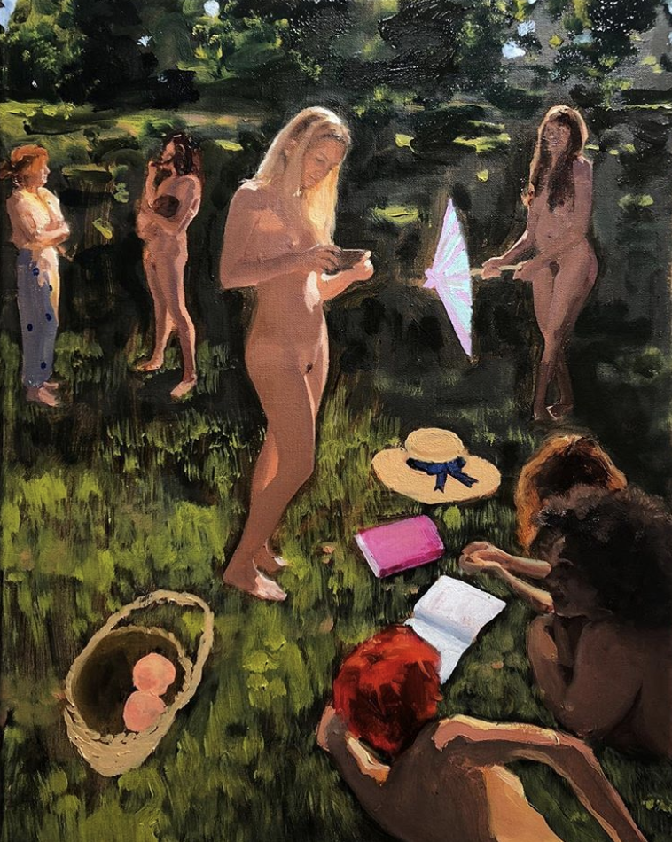 Jenna_Gribbon_Modern_Love_Club_Chrissy_Taking_Reference_Photos_for_her_Painting.png