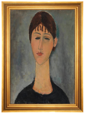 MUNN WORKS //  MODIGLIANI - PORTRAIT OF MME ZBOROWSKA