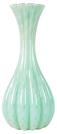 ONE KINGS LANE  // SEA MIST MURANO VASE
