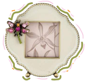 JAY STRONGWATER  // EMBELLISHED PICTURE FRAME