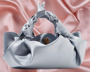 THE ROW  // ASCOT SMALL SATIN TOTE