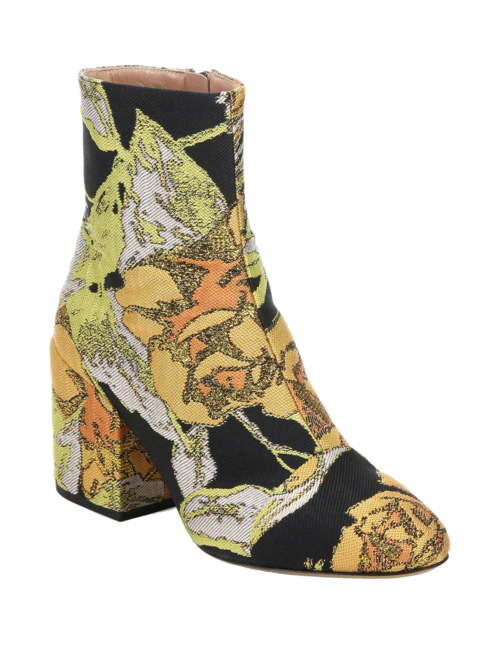 DRIES VAN NOTEN  // BROCADE ANKLE BOOTS