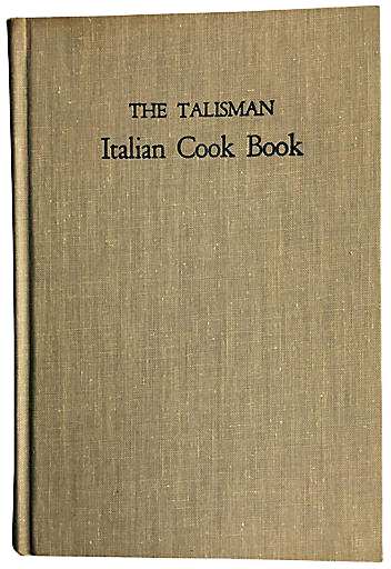 ONE KINGS LANE VINTAGE  // THE TALISMAN ITALIAN COOK BOOK