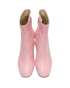MARYAM NASSIR ZADEH  // PINK AGNES BOOT