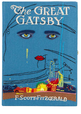 OLYMPIA LE-TAN  // THE GREAT GATSBY BOOK CLUTCH