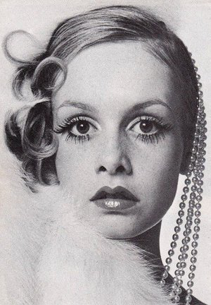 Twiggy   for Harper's & Queens, 1973