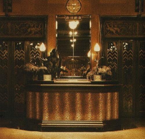 The Interior  of London based store BIBA circa 1960